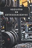 Registro De Entrenamientos: Con Páginas...